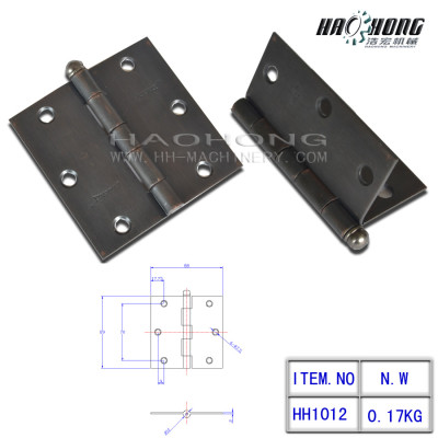 oil rubbed bronze ball top door hinges