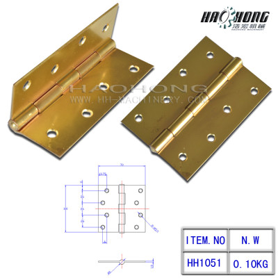fixed pin plain hinges