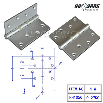 satin nickel ball bearing hinge