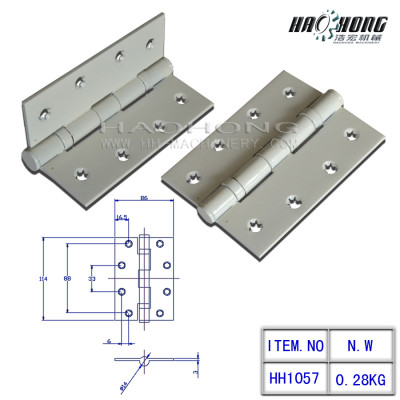 white painting 2 ball bearing hinge