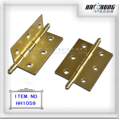 brass plating ball top plain hinge
