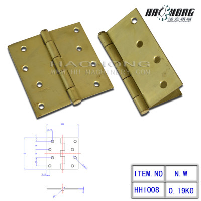 Steel Full Mortise Butt Hinge