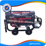 Used Gasoline Engine Generator with Wheelkit and Battery