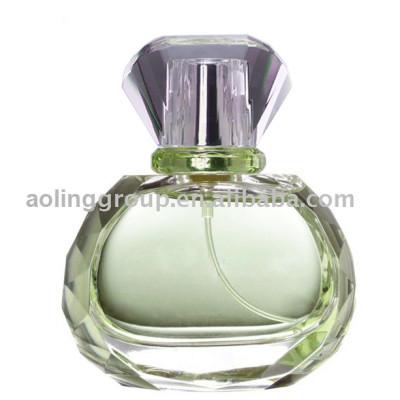 perfume bottle, glass bottle
