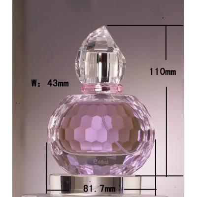 fancy glass perfume bottle