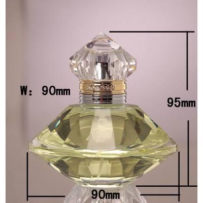 crystal perfume bottle, good glass bottle