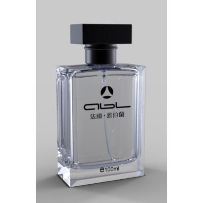 suit printing perfume bottle