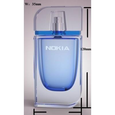 glass bottles, perfume bottles