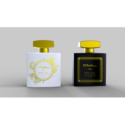 Collection perfume bottle