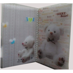 3D Cover Notebook