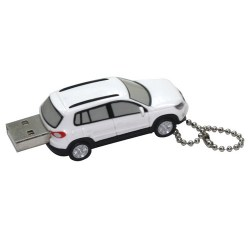 Plastic Car USB Flash Memory