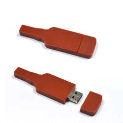 Plastic Bottle USB Flash Memory