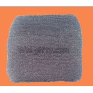 Light Gray Cotton Sweatband