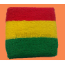 3 Colors Stripes Sweatband