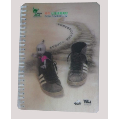 3D PP Cover Notebook