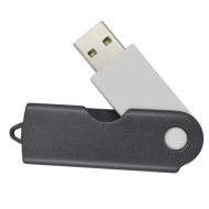 Plastic 4GB USB Flash Drive