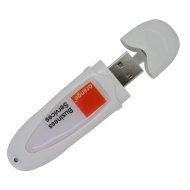 Plastic  Plastic USB Flash Drive