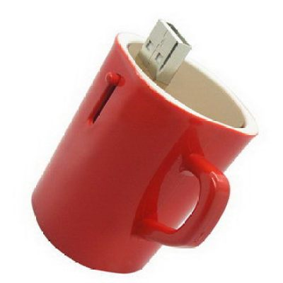 Plastic Cup USB Flash Memory