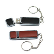 Leather  Hot Sales Promotional Gift Customized Leather USB Flash Drive