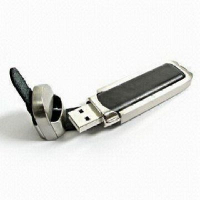 Leather NEW Leather USB Flash Drive(Free engrave logo)