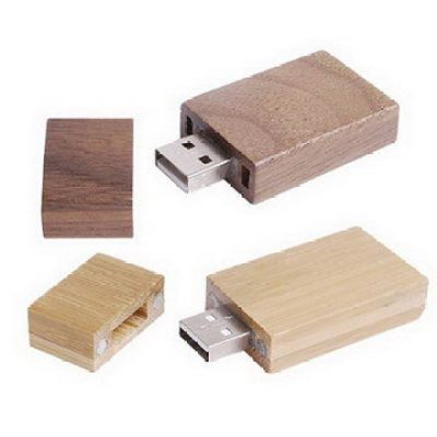 Wood 100% Real Capacity Wood USB  Flash Drive
