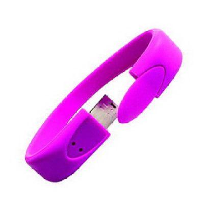 Silicone  Promotional Silicone USB Bracelet