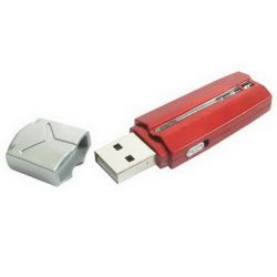 Plastic Red Bar USB Flash Drive