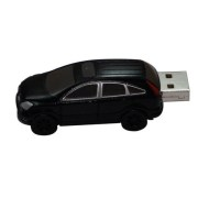 Plastic Black Car USB Flash Drive