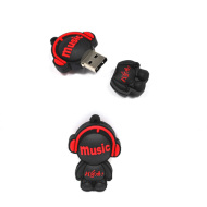 PVC Hot Sell USB Flash Drive With Your Logo Printing
