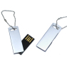 Mini Metal USB Flash Drive With Key Ring 2GB