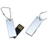 Mini Metal USB Flash Drive With Key Ring 2GB