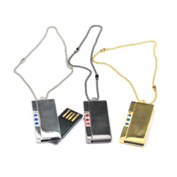 Mini Gold Bar Usb Flash Drive