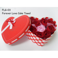 Forever Love Cake Towel