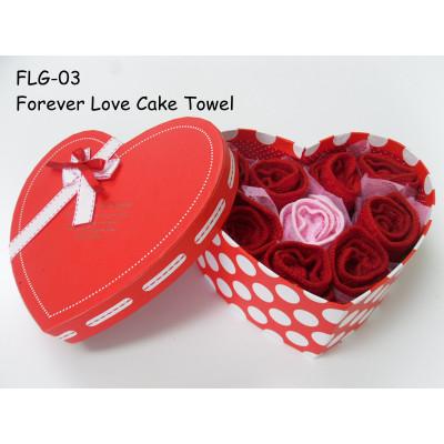 Forever Love Cake Towel