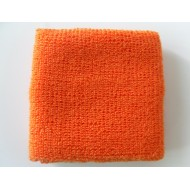 Orange Athletic Wrist Sweatband