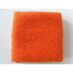 Orange Athletic Wrist Sweatband