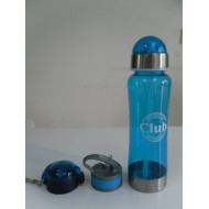 Clear Plastic Drinking Water Bottle