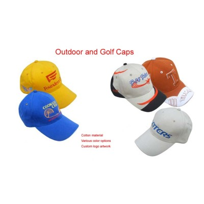 Embroidery Golf  Hat Golf Cap