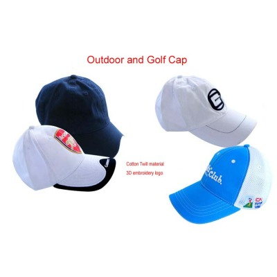 Custom Embroidery Golf  Hat Golf Cap