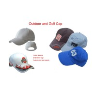 Customized 3D Embroidery Golf  Hat Golf Cap