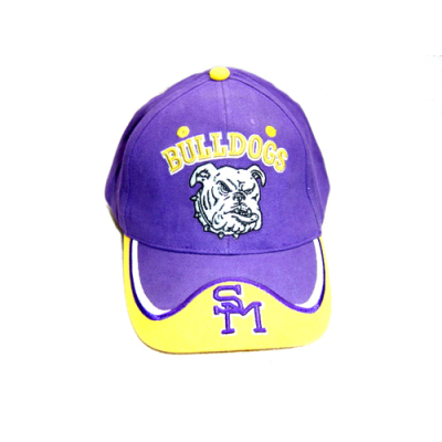 Racing Baseball Cap With 3D Embroidered