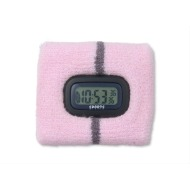 Terry Sweatband with Watch