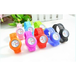 Customized Color Fashion Silicone Watch