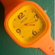 Colorful Silicone Watch With Fashion Desgin