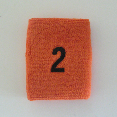 Custom Numbered Sweatband