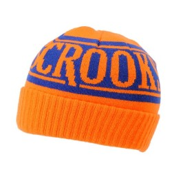 Crooks & Castles Full Blast Orange Cuff Beanie