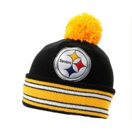 NFL Mitchell and Ness Pittsburgh Steelers Pom Beanie