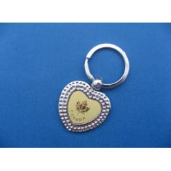 Heart Shape Metal Kerying