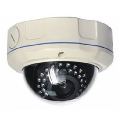 H.264 MEGAPIXEL 1.3M Pixel Varifocal Low Lux HD Dome IP Camera