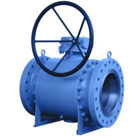 Trunnion ball valve